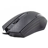 Мышь JEQANG JM-029 оптическая игровая компьютерная мышка для ПК ноутбука 1200 DPI Black 672-293, КОД: 1391607