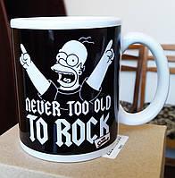 "Чашка-прикол ""Сімпсон"". Чашка-мем. Друк на чашках"