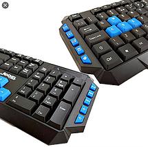 Английско-русская клавиатура и мышь беспроводные jedel WS 880, фото 3