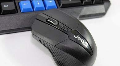 Английско-русская клавиатура и мышь беспроводные jedel WS 880, фото 2