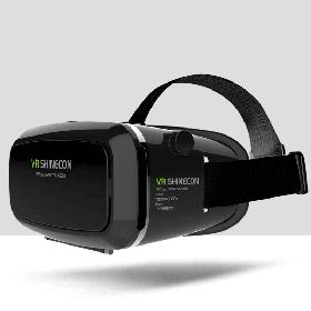 3D Очки виртуальной реальности VR Shinecon Bluetooth Черные