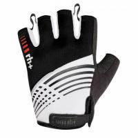 Велоперчатки Zerorh+ Plus glove черно-белые (MD)