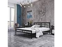 Кровать металлическая Квадро, Металл дизайн