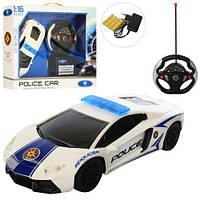 Машина QX3688-17 радіокер., акум., поліція, 1:16, гумові колеса, світло, кор., 41,5-34-10 см.