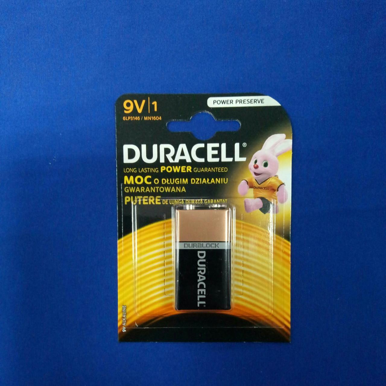 "Батарейка  Duracell 6LR61 MN1604 ""Крона"""