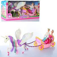 Кукольная карета с лошадью 68133, фото 1