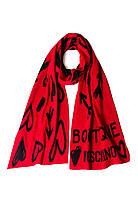Шарф Moschino Boutique Красный 30598, КОД: 190849