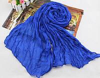 Женский шарф 138х72 см Синий АL703050, КОД: 1493488