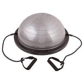 Босу балансировочная платформа BOSU серебро