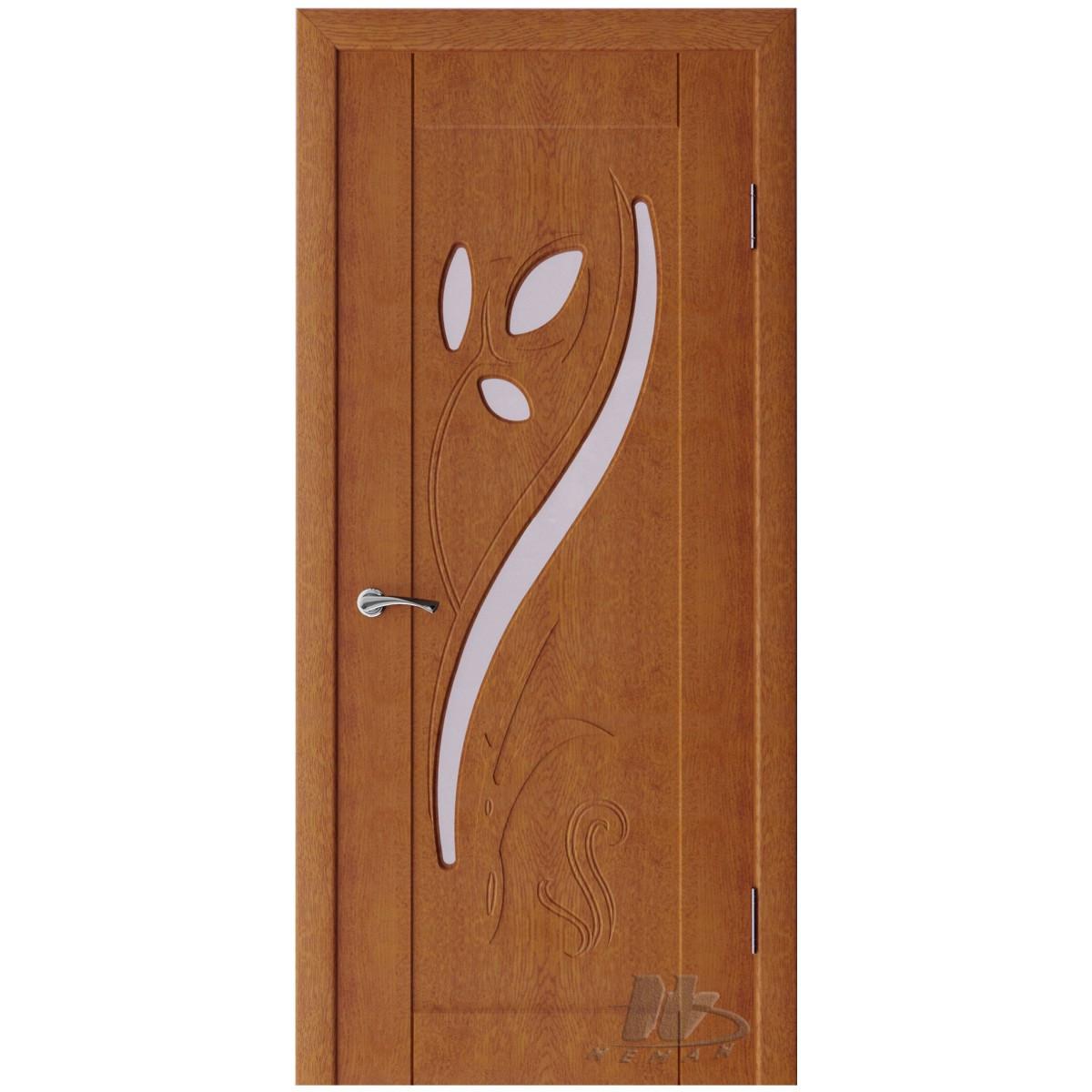 Межкомнатные двери 3D « Тюльпан» тм Неман