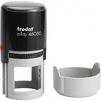 Оснастка для штампа пластиковая круглая Trodat Printy 46050 Ø 50 мм чёрная