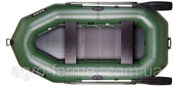 Двухместная надувная гребная лодка Bark-270P