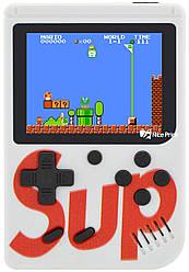 Ретро игровая приставка (Игровая консоль) Game Box sup 400 игр в 1 White
