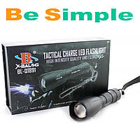 Тактический фонарь Bailong Police BL-1891-T6 50000W