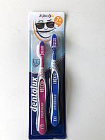 Зубная щетка Dentalux Junior от 7+ 2 шт