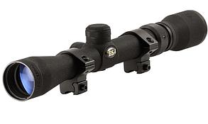 Оптический прицел 3-9 X 32 -  BSA  прицельная сетка дуплекс + Крепление кольца в подарок