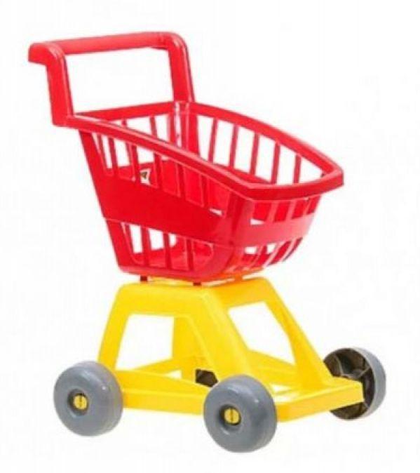 Детская тележка супермаркет Орион 693 красная