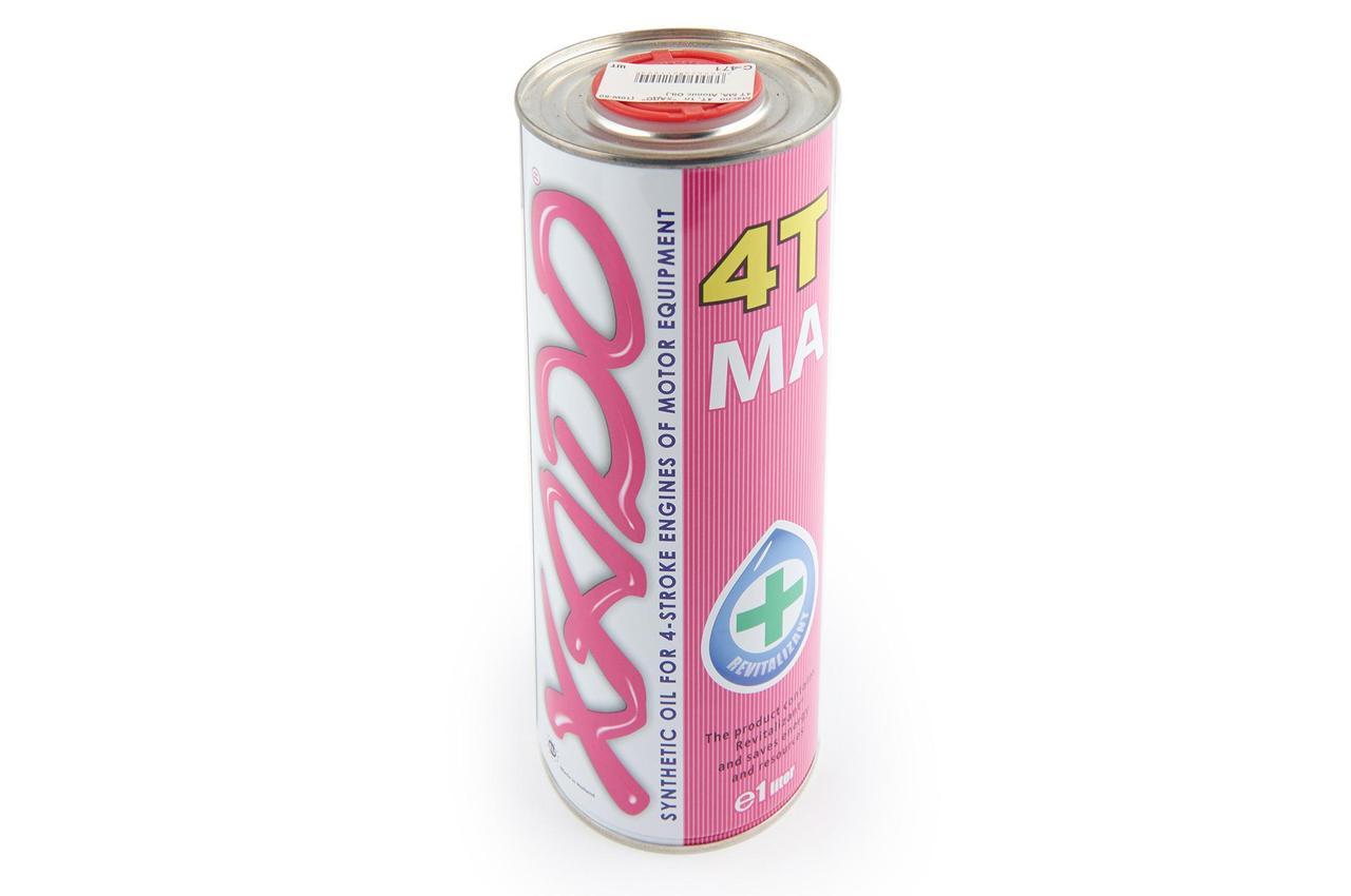 Масло 4Т Четырехтактное, 1л (синтетика, 10W-60 4T MA, Atomic OIL) ХАДО