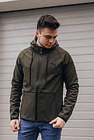 Качественая куртка Puma Soft Shell/Чоловіча куртка Пума софт шел
