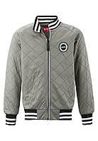 Демисезонная куртка-бомбер для мальчика Reima Birger 526333-9340. Размеры 104 - 140.