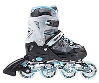 Роликовые коньки Nils Extreme NA1118A Size 39-42 Light Blue NA1118A-LBLS39-42, КОД: 354566