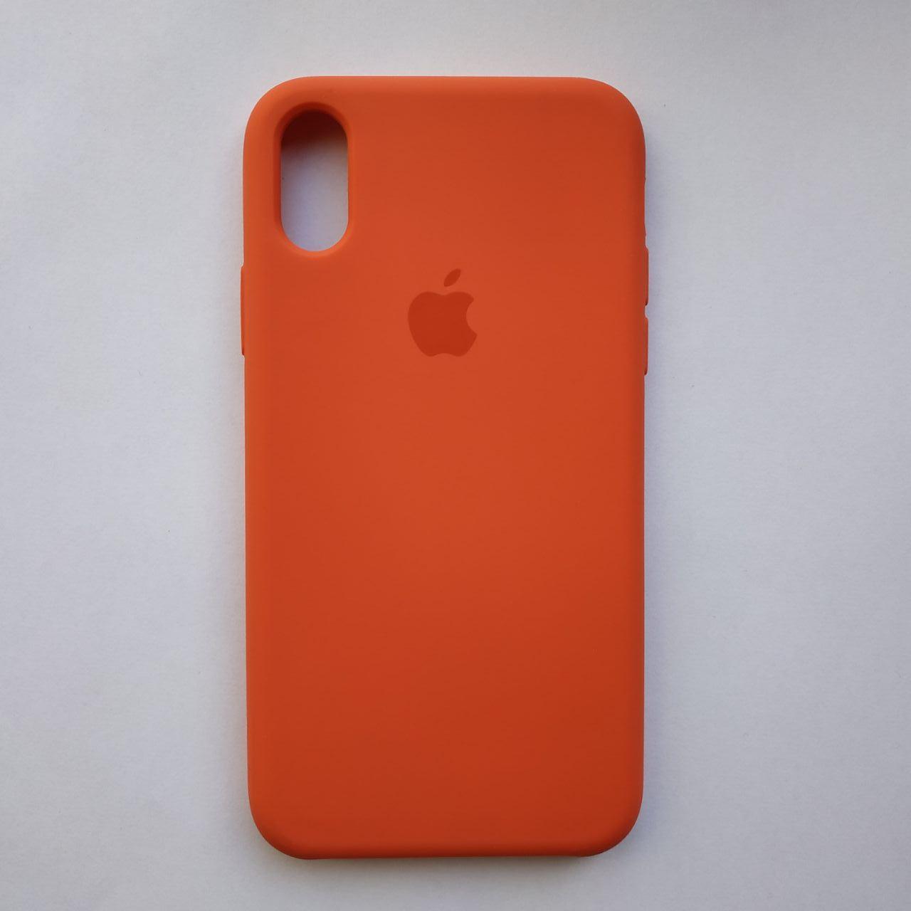 Чехол Silicone Case для Apple iPhone X, XS Sunset