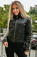 Стильная женская весенняя короткая куртка