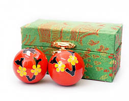 Массажные шары Баодинга пара Эмаль Сакура