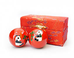 Массажные шары Баодинга пара Эмаль Панды