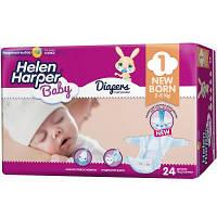 Подгузник Helen Harper Baby Newborn 2-5 кг 24 шт (2310402)