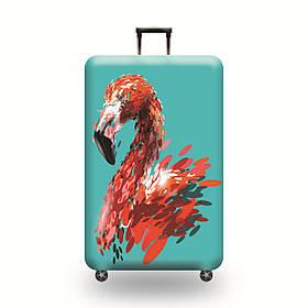 Защитный Чехол для чемодана Гордый Фламинго + другие модели