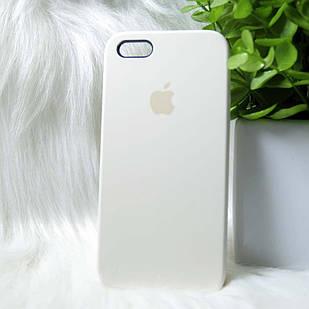 Чехол iPhone 5 5s SE кремовый