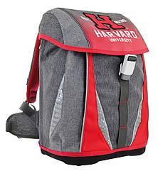 Рюкзак шкільний каркасний YES H-32 Harvard Світло-сірий 556225, КОД: 1247937