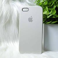 "Чохол Iphone 5 / 5S / SE Beige (бежевий) ""Apple Original Silicone case"""