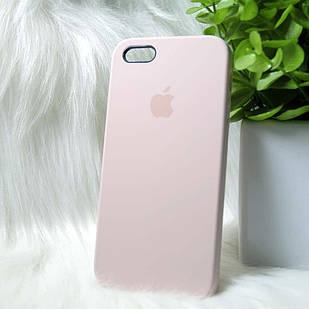 Чехол iPhone 5 5s SE розовый