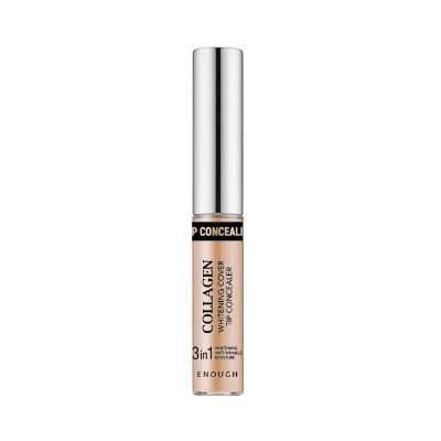 Освітлюючий колагеновий консилер Enough Collagen Whitening Cover Tip Concealer #02