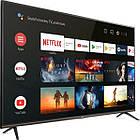 Телевизор TCL 43EP641 (Smart TV / Android / Ultra HD / 4К / PPI 1200 / Wi-Fi / DVB-C/T/S/T2/S2), фото 2