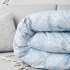 Одеяло Яртекс пуховое полуторное Голубое hubOvuW98511, КОД: 1383980