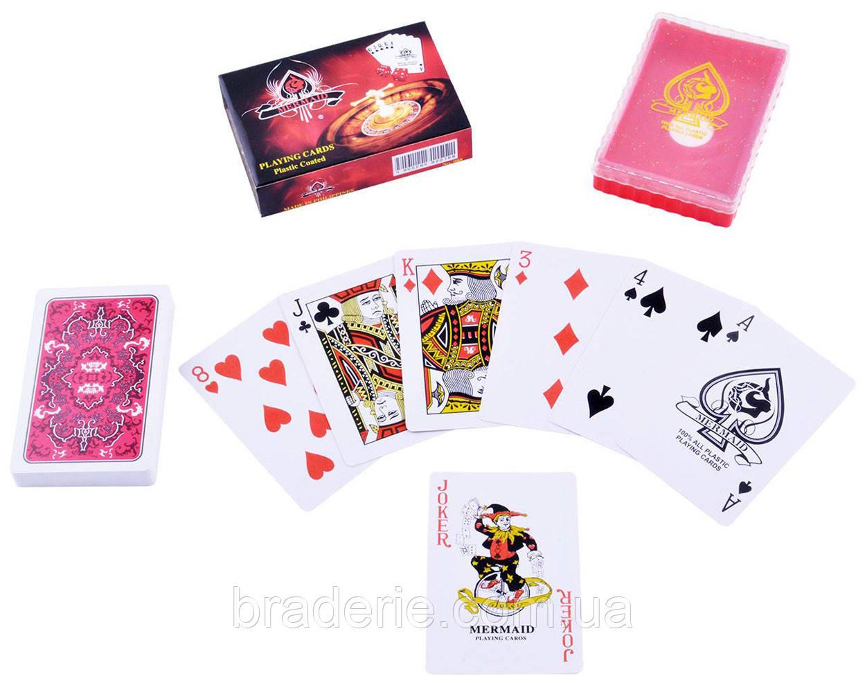 Карты игральные пластиковые Casino 54 шт. 839-3