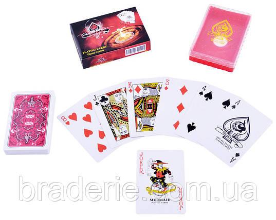 Карты игральные пластиковые Casino 54 шт. 839-3, фото 2