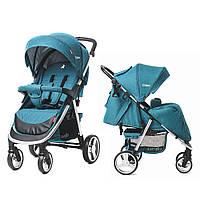 Прогулочная коляска Carrello Unico + дождевик Water Blue (CRL-8507)
