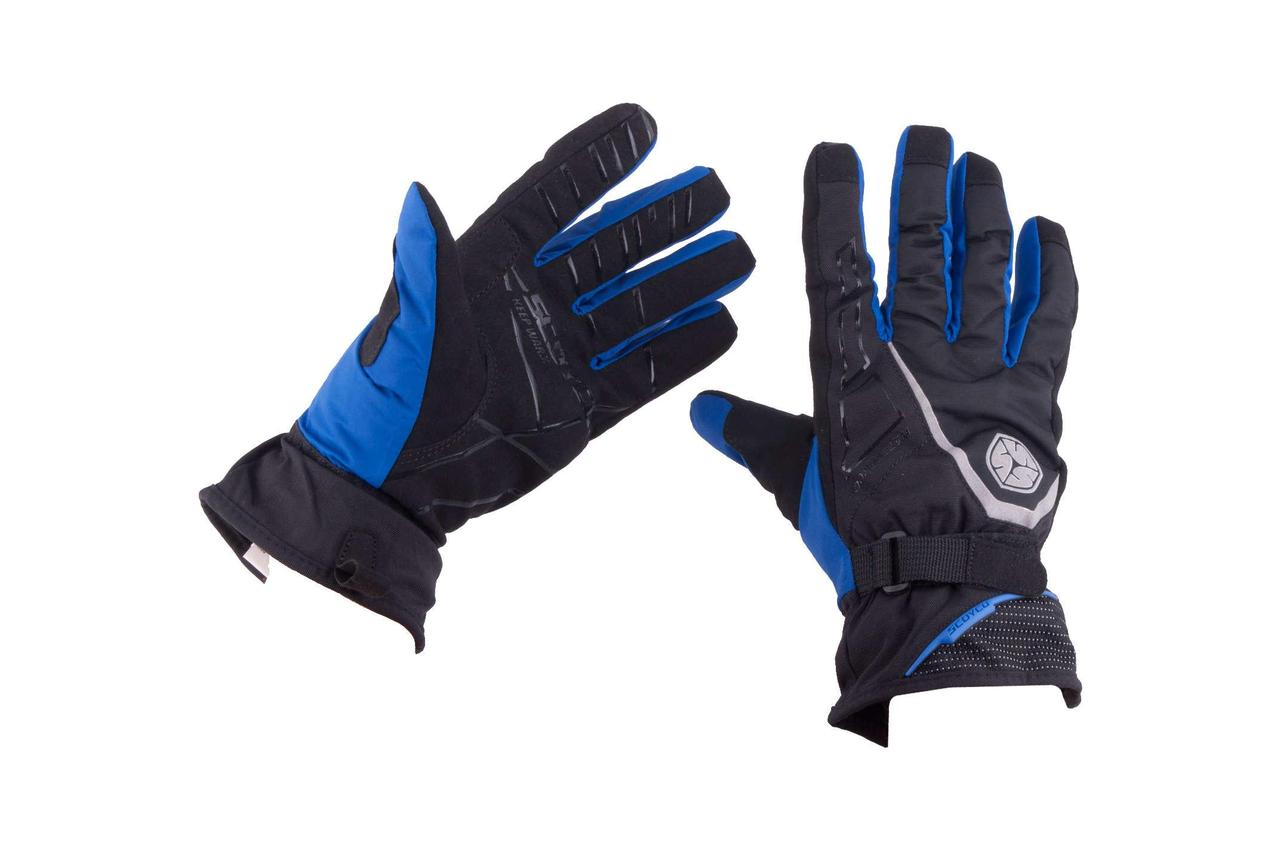 Мотоперчатки, Мотоциклетные перчатки, Перчатки для мотоцикла, мото рукавиці SCOYCO (Размер:XL, синие,