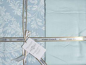 Комплект постельного белья First Choice Сатин Люкс Vanessa Mint, фото 3