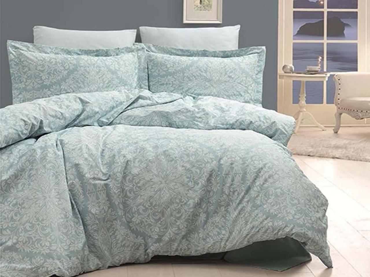 Комплект постельного белья First Choice Сатин Люкс Vanessa Mint