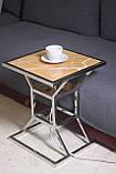 """Кофейный-прикроватный столик «Hourglass» — """"Песочные часы"""" с подсветкой, фото 2"""