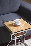 """Кофейный-прикроватный столик «Hourglass» — """"Песочные часы"""" с подсветкой, фото 3"""