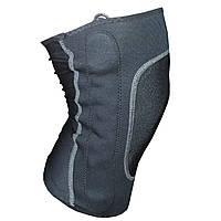 Наколенник эластичный Power knee L для коленных суставов Черный 3285-9515, КОД: 1385592