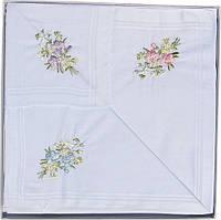 Комплект женских носовых платков Guasch 58150-77 Белый 797, КОД: 1371494
