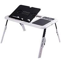 Столик для ноутбука Trend-mix E-Table Черно-белый tdx0000435, КОД: 726907