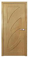 Дверь межкомнатная Пальмира ПГ (тиковое дерево, дуб), фото 1
